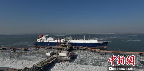 首船LNG到达中国石化天津接收站