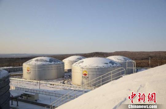 中俄原油管道进口俄罗斯原油11495万吨。 李国军 摄