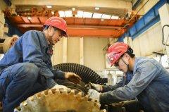 34套公司控大型机组停车检修