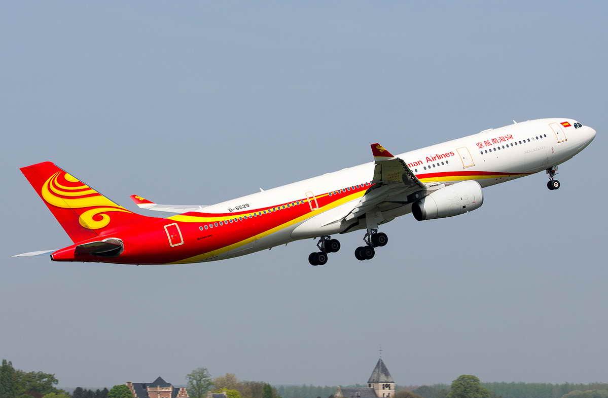 海南航空空客A330客机