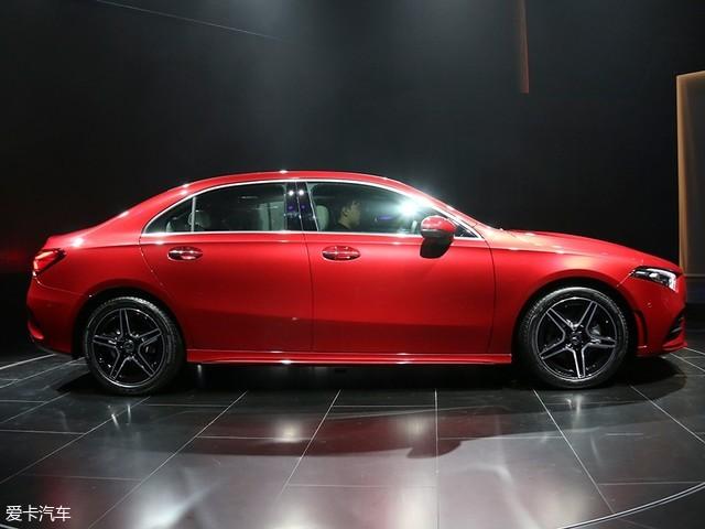 奔驰新一代A级三厢版首发 将于年内国产