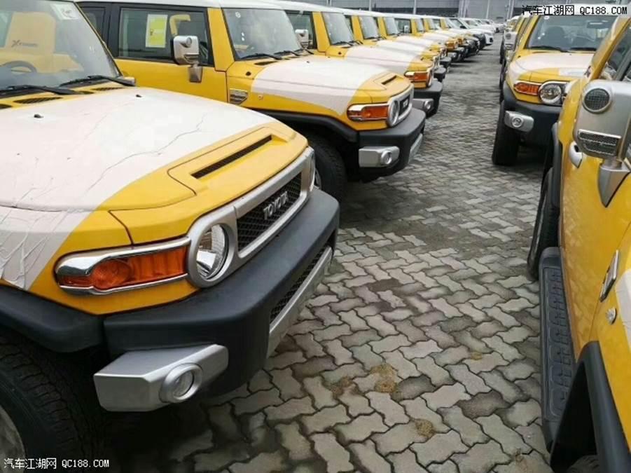 中东版丰田FJ酷路泽价格 酷路泽FJ最低多少钱