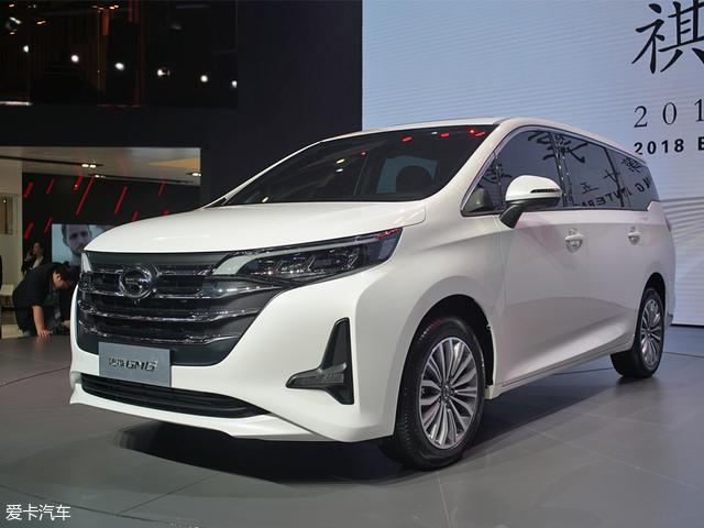2018北京车展;传祺GM6;广汽传祺;静评