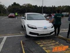 全新观致3纯电动版车型实拍 广州
