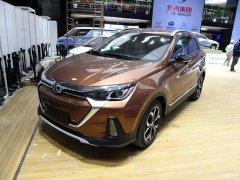 纯电动紧凑SUV 北汽新能源EX5明