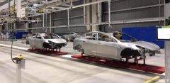 新进展 特斯拉Model 3车身于上海