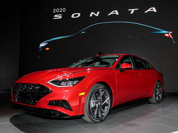 现代索纳塔正式上市 搭1.6T发动机/外观更个性-图1