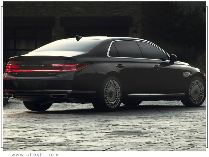 捷尼赛思全新G90售价曝光 搭5.0L引擎/年内上市-图3