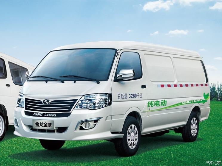 厦门金龙 金威新能源 2020款 纯电动厢式运输车41.86kWh
