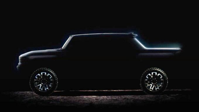 悍马EV皮卡最新消息计划2021年底上市-图3