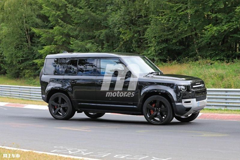 路虎卫士V8车型路试谍照 搭宝马发动机/2021年发布-图13