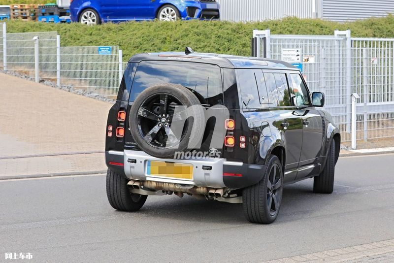 路虎卫士V8车型路试谍照 搭宝马发动机/2021年发布-图30