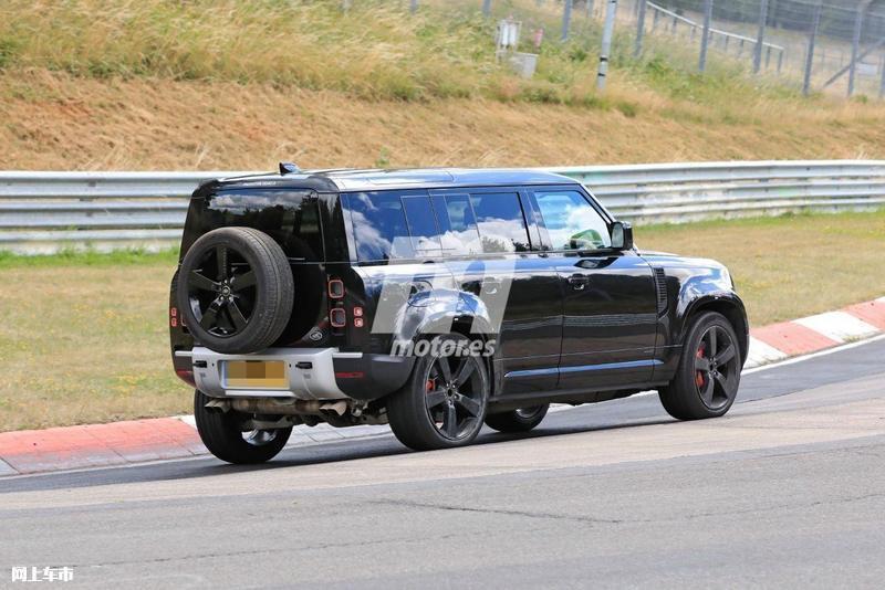 路虎卫士V8车型路试谍照 搭宝马发动机/2021年发布-图8