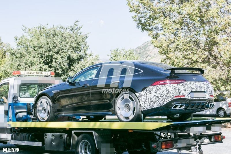 梅赛德斯-全新AMG GT四门版曝光4.0T V8+电动机-图8