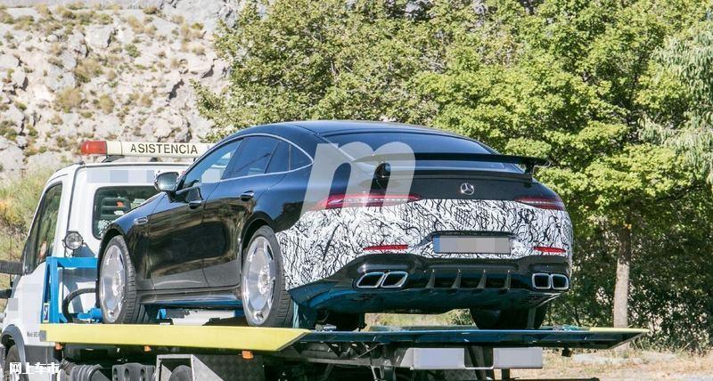 梅赛德斯-全新AMG GT四门版曝光4.0T V8+电动机-图10
