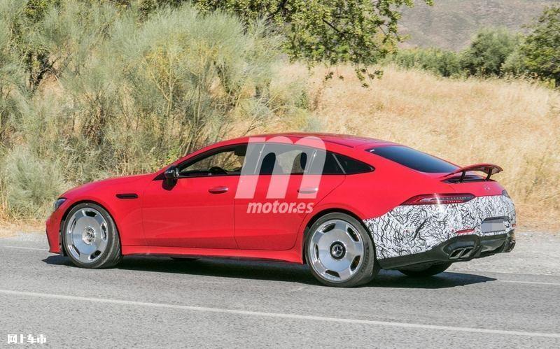 梅赛德斯-全新AMG GT四门版曝光4.0T V8+电动机-图3