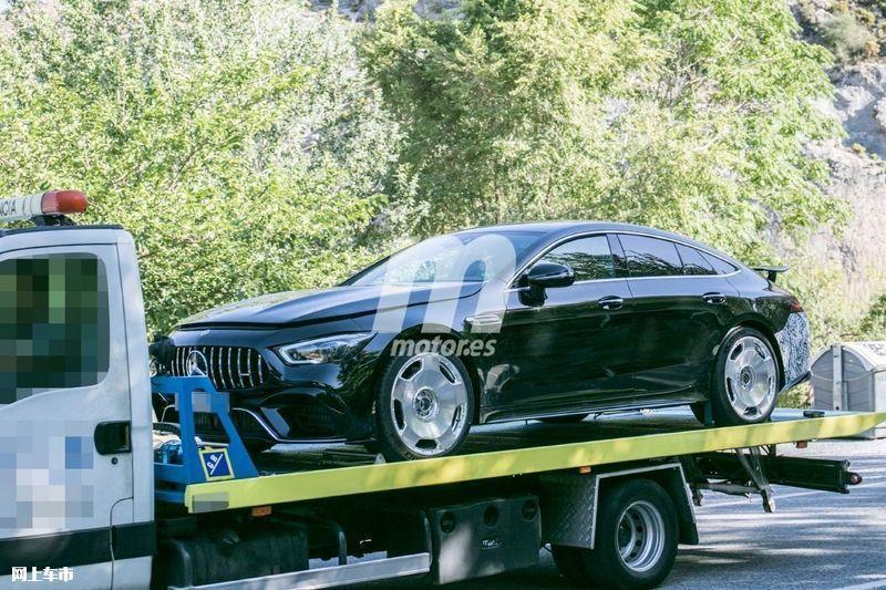 梅赛德斯-全新AMG GT四门版曝光4.0T V8+电动机-图6