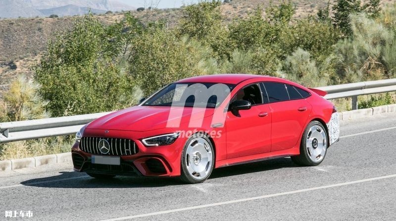 梅赛德斯-全新AMG GT四门版曝光4.0T V8+电动机-图1