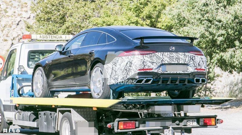 梅赛德斯-全新AMG GT四门版曝光4.0T V8+电动机-图9