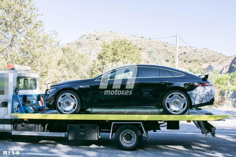 梅赛德斯-全新AMG GT四门版曝光4.0T V8+电动机-图7