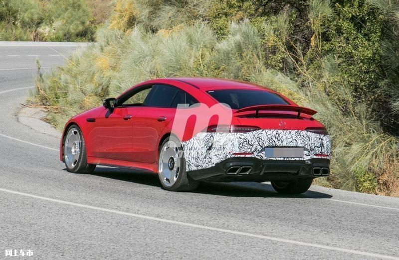 梅赛德斯-全新AMG GT四门版曝光4.0T V8+电动机-图5