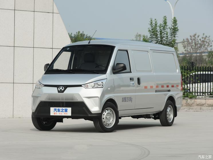 北京汽车制造厂 北汽小河马 2020款 纯电厢式物流车电池加热版