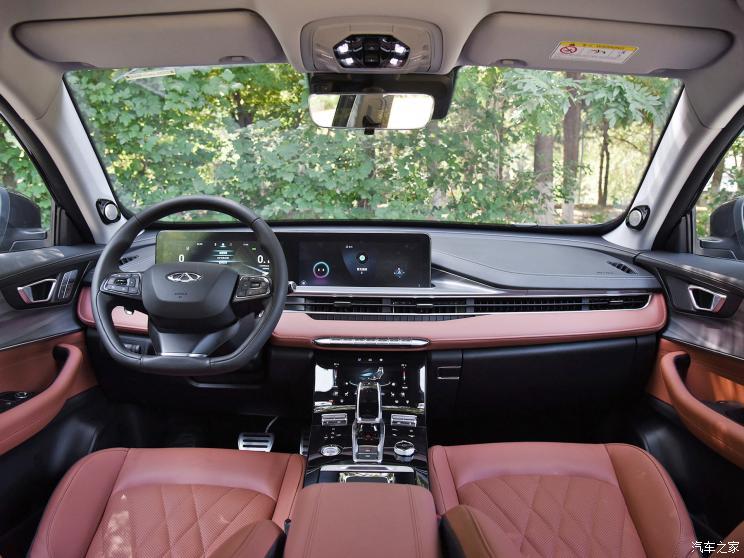 奇瑞汽车 瑞虎8 PLUS 2021款 290TGDI 自动基本型